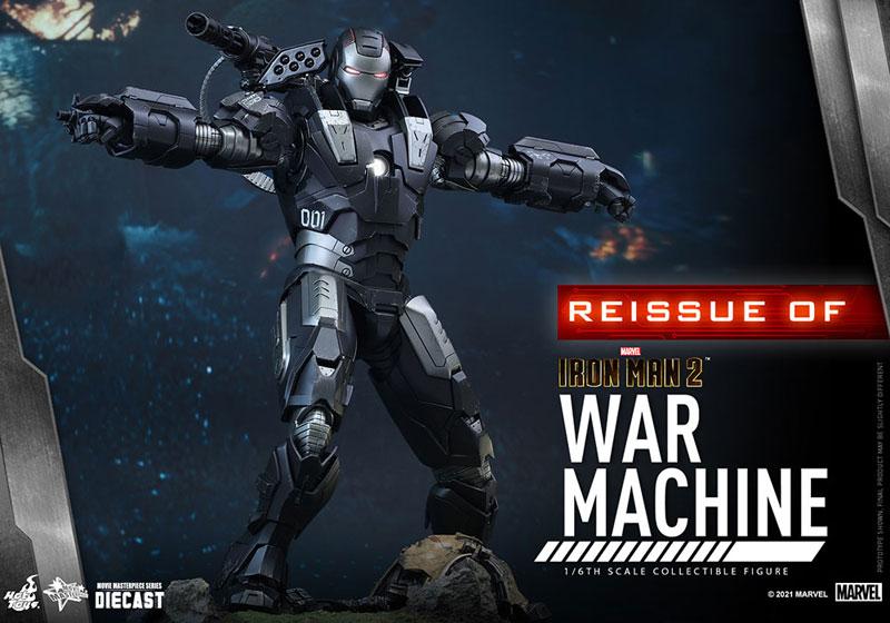 【再販】ムービー・マスターピース DIECAST『ウォーマシン』アイアンマン2 1/6 可動フィギュア-004