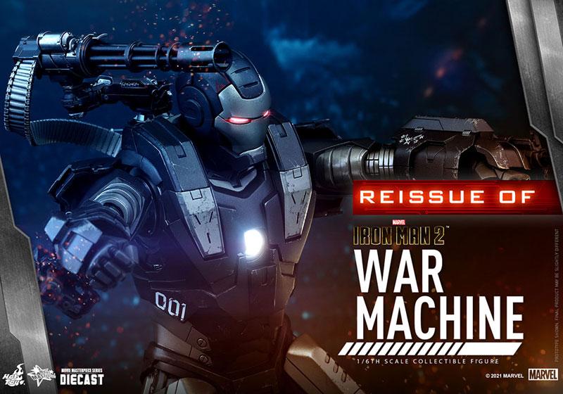 【再販】ムービー・マスターピース DIECAST『ウォーマシン』アイアンマン2 1/6 可動フィギュア-005