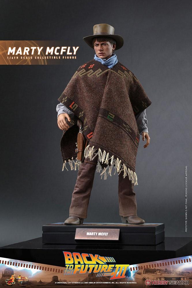 ムービー・マスターピース『マーティ・マクフライ』バック・トゥ・ザ・フューチャー PART3 1/6 可動フィギュア-001