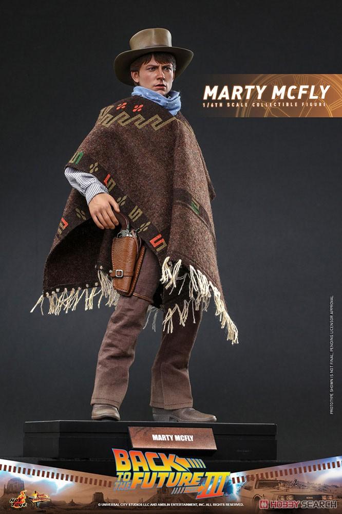 ムービー・マスターピース『マーティ・マクフライ』バック・トゥ・ザ・フューチャー PART3 1/6 可動フィギュア-002