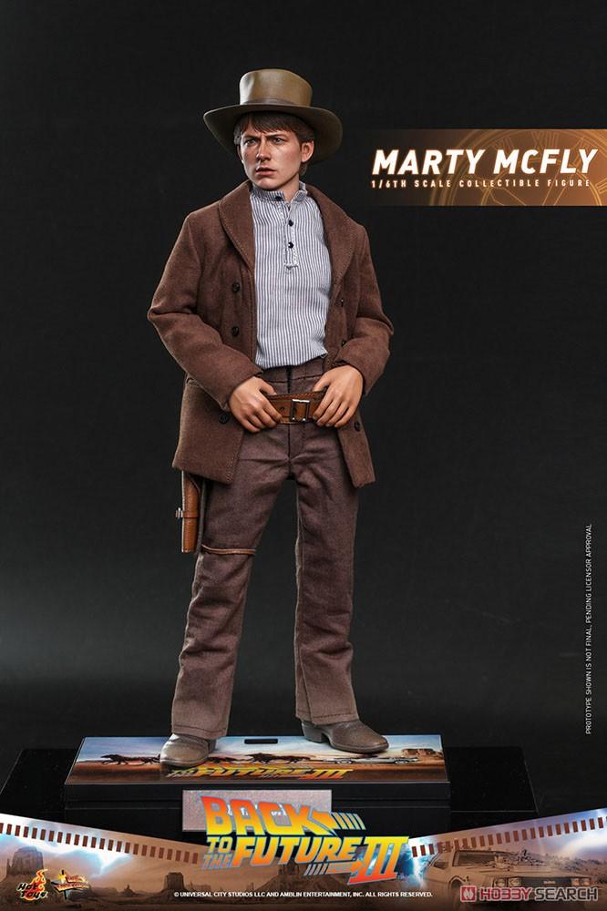 ムービー・マスターピース『マーティ・マクフライ』バック・トゥ・ザ・フューチャー PART3 1/6 可動フィギュア-004