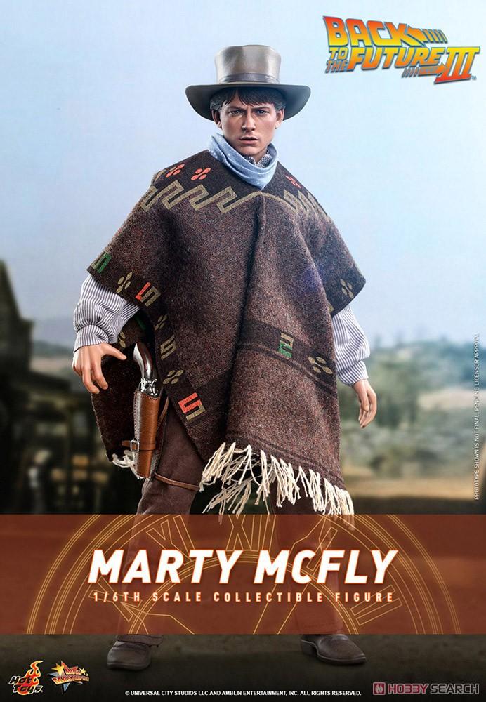 ムービー・マスターピース『マーティ・マクフライ』バック・トゥ・ザ・フューチャー PART3 1/6 可動フィギュア-005