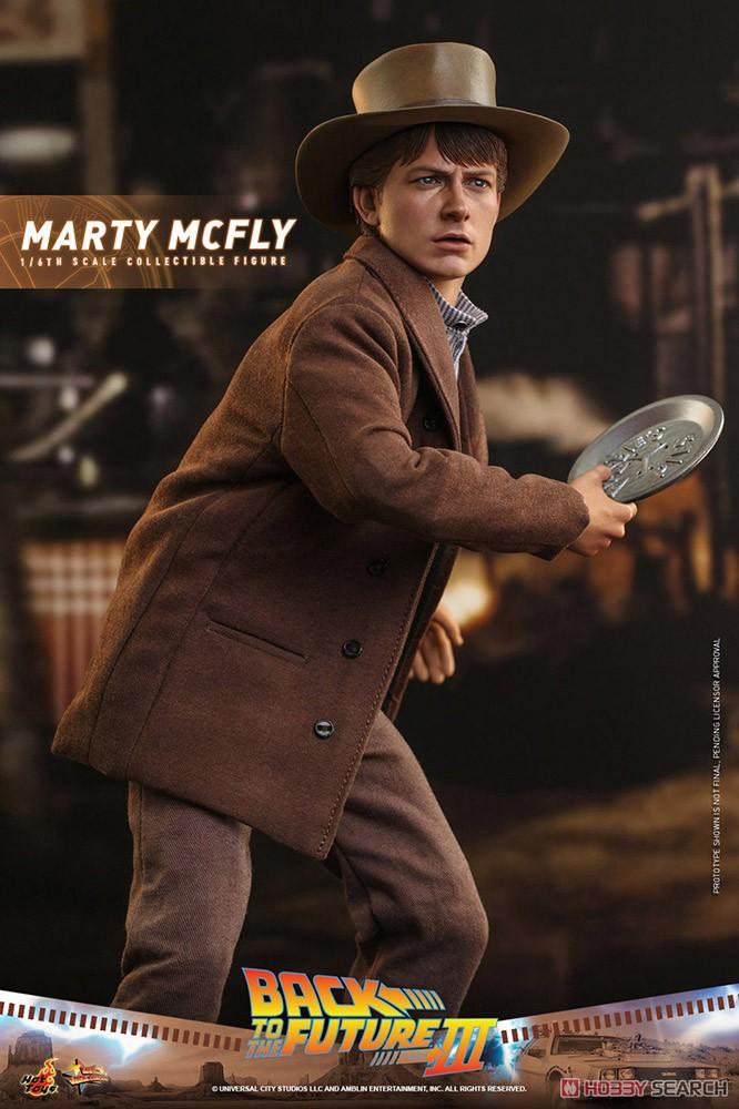 ムービー・マスターピース『マーティ・マクフライ』バック・トゥ・ザ・フューチャー PART3 1/6 可動フィギュア-007