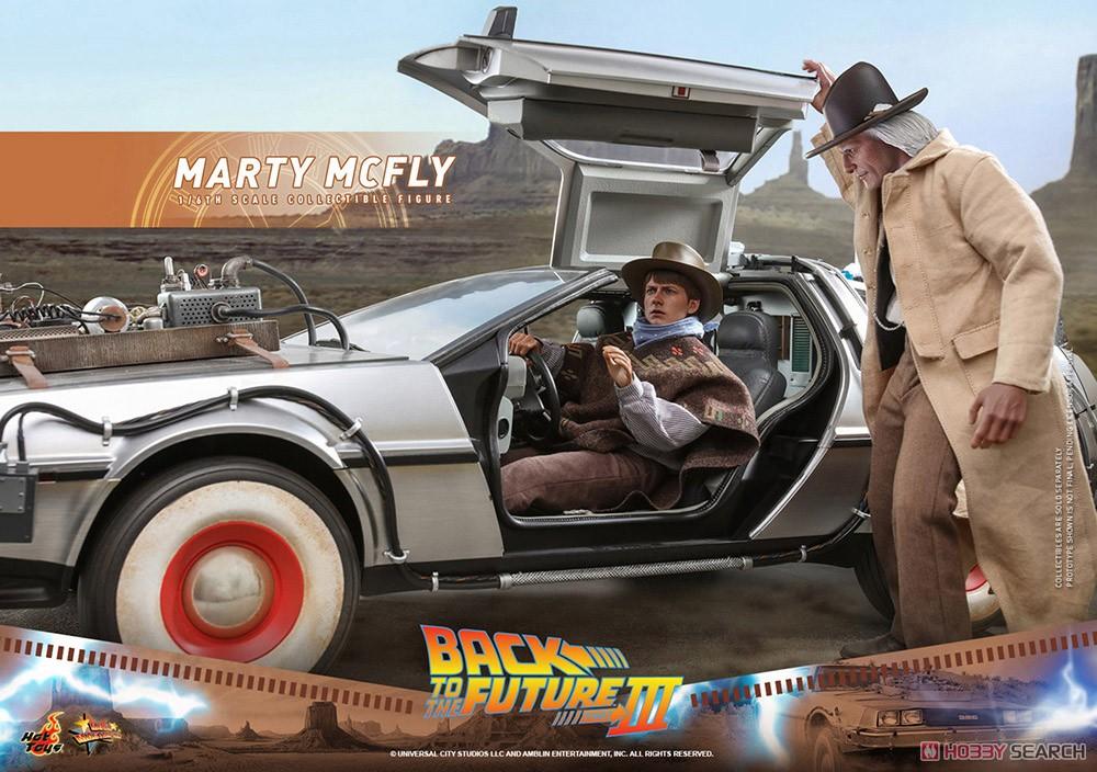 ムービー・マスターピース『マーティ・マクフライ』バック・トゥ・ザ・フューチャー PART3 1/6 可動フィギュア-015