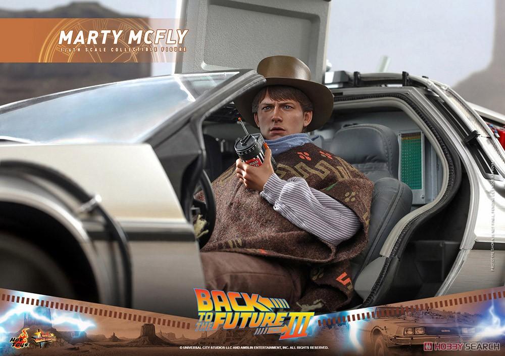 ムービー・マスターピース『マーティ・マクフライ』バック・トゥ・ザ・フューチャー PART3 1/6 可動フィギュア-016