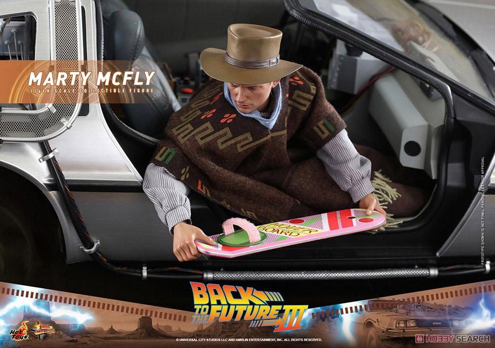 ムービー・マスターピース『マーティ・マクフライ』バック・トゥ・ザ・フューチャー PART3 1/6 可動フィギュア-017