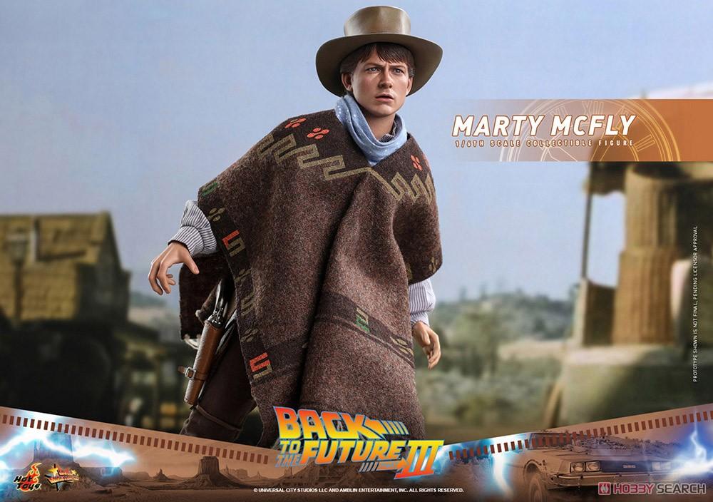 ムービー・マスターピース『マーティ・マクフライ』バック・トゥ・ザ・フューチャー PART3 1/6 可動フィギュア-018