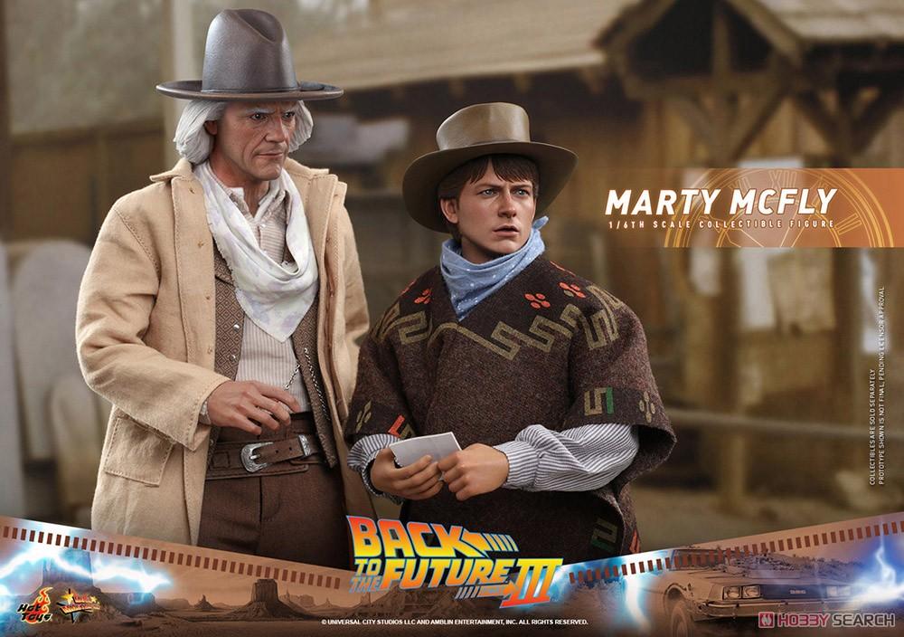 ムービー・マスターピース『マーティ・マクフライ』バック・トゥ・ザ・フューチャー PART3 1/6 可動フィギュア-020