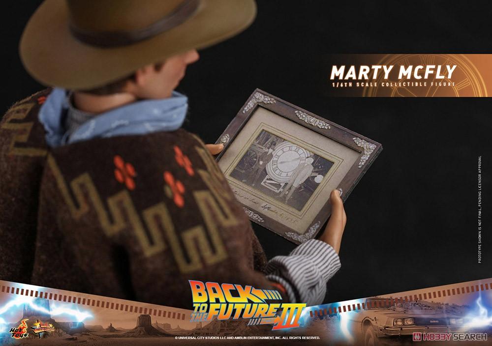 ムービー・マスターピース『マーティ・マクフライ』バック・トゥ・ザ・フューチャー PART3 1/6 可動フィギュア-021