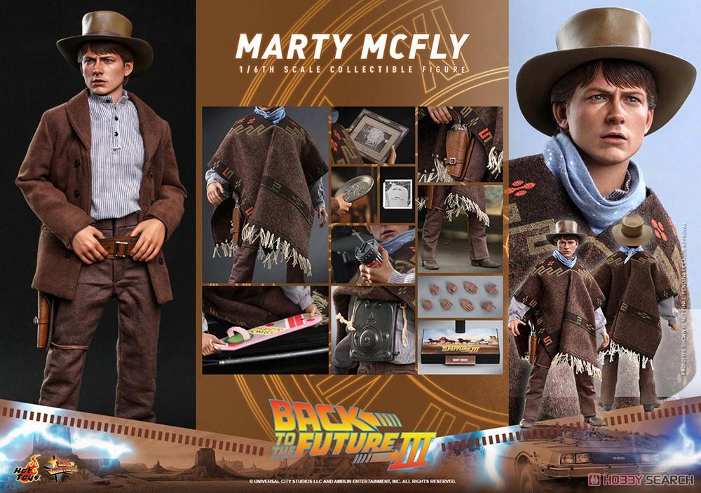 ムービー・マスターピース『マーティ・マクフライ』バック・トゥ・ザ・フューチャー PART3 1/6 可動フィギュア-022