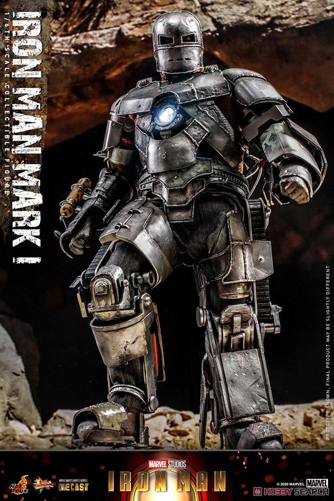 ムービー・マスターピース DIECAST『アイアンマン・マーク1』アイアンマン 1/6 可動フィギュア-004