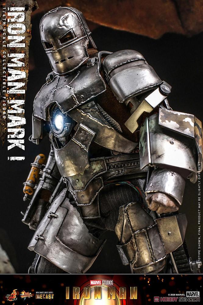 ムービー・マスターピース DIECAST『アイアンマン・マーク1』アイアンマン 1/6 可動フィギュア-005