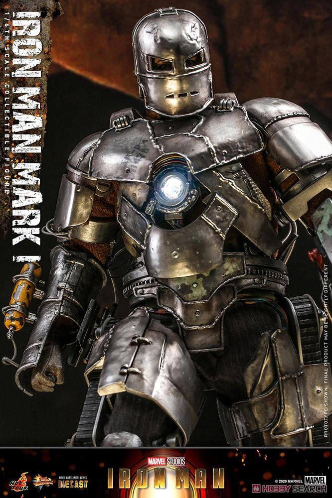 ムービー・マスターピース DIECAST『アイアンマン・マーク1』アイアンマン 1/6 可動フィギュア-006