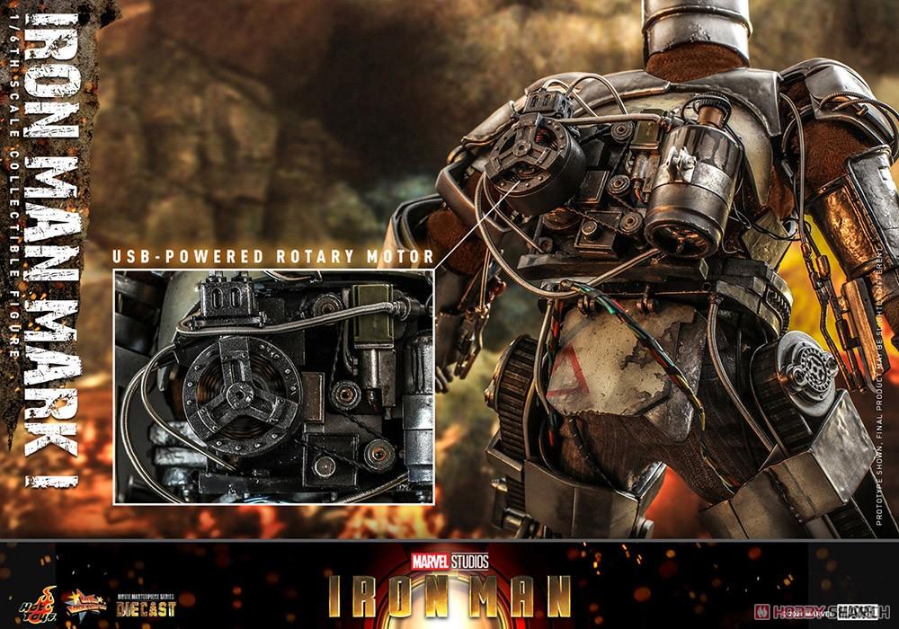 ムービー・マスターピース DIECAST『アイアンマン・マーク1』アイアンマン 1/6 可動フィギュア-018