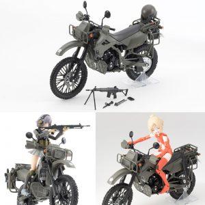 リトルアーモリー〈LM002〉陸上自衛隊偵察オートバイ DX版[トミーテック]