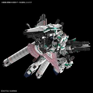 【ガンダムUC】RG『フルアーマー・ユニコーンガンダム』1/144 プラモデル【BANDAI SPIRITS】より2018年12月発売予定☆