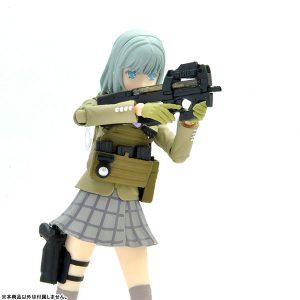 【リトルアーモリー】短機関銃『P90』1/12 プラモデル【トミーテック】より2018年9月発売予定♪