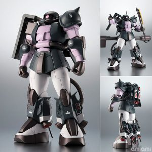 【ガンダム MSV】ROBOT魂〈SIDE MS〉『高機動型ザクII ver. A.N.I.M.E.~黒い三連星~』可動フィギュア【BANDAI SPIRITS】より2019年1月発売予定☆