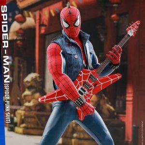 【スパイダーマン】ビデオゲーム マスターピース『スパイダー パンクスーツ』可動フィギュア【ホットトイズ】より2019年12月発売予定☆