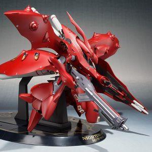 【ガンダム 逆シャア】ROBOT魂 『ナイチンゲール(重塗装仕様)』可動フィギュア【バンダイ】より2019年2月発売予定☆