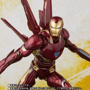 【アベンジャーズ】S.H.フィギュアーツ『アイアンマン マーク50 ナノウェポンセット』可動フィギュア【バンダイ】より2019年3月発売予定♪