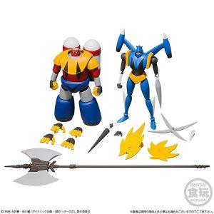 【真ゲッター 世界最後の日】スーパーミニプラ『真ゲッターロボ Vol.3』食玩 セット【バンダイ】より2019年2月発売予定☆