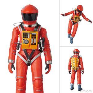 【2001年宇宙の旅】マフェックス『SPACE SUIT ORANGE Ver.』可動フィギュア【メディコム・トイ】より2018年11月再販予定☆