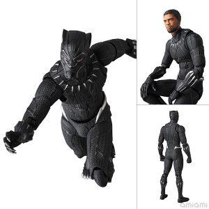 【ブラックパンサー】マフェックス『BLACK PANTHER|ブラックパンサー』可動フィギュア【メディコム・トイ】より2019年8月発売予定♪