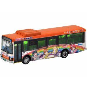 【ラブライブ!サンシャイン!!】ザ・バスコレクション『東海バスオレンジシャトル ラブライブ!サンシャイン!! ラッピングバス2号車』1/150 Nゲージ【トミーテック】より2019年1月発売予定☆