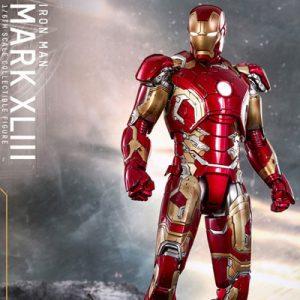 【アベンジャーズ】ムービー・マスターピース DIECAST『アイアンマン・マーク43』1/6 可動フィギュア【ホットトイズ】より2019年11月再販予定♪