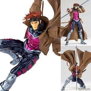 【X-MEN】リボルテック『ガンビット』フィギュアコンプレックス アメイジング・ヤマグチ 可動フィギュア【海洋堂】より2019年3月発売予定☆