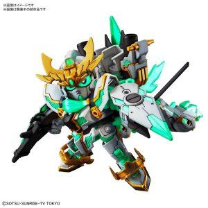 【ガンダムビルドダイバーズ】SDBD『RX-零丸 神気結晶』プラモデル【BANDAI SPIRITS】より2019年1月発売予定☆