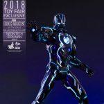 【アイアンマン2】ムービー・マスターピース DIECAST『アイアンマン・マーク4 ネオンテック版』1/6 可動フィギュア【ホットトイズ】より2019年1月発売予定♪