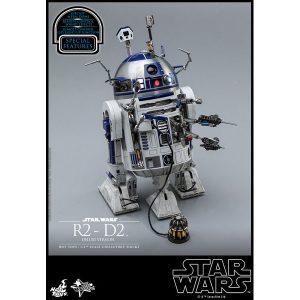 【スター・ウォーズ】ムービー・マスターピース『R2-D2 デラックス版』1/6 可動フィギュア【ホットトイズ】より2019年11月発売予定☆