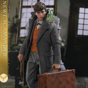 【ファンタスティック・ビースト】ムービー・マスターピース『ニュート・スキャマンダー』1/6 可動フィギュア【ホットトイズ】より2019年10月発売予定♪