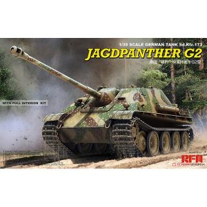 ドイツ重駆逐戦車『Sd.Kfz.173 ヤークトパンター G2型』1/35 プラモデル【ライフィールドモデル】より2018年12月発売予定♪