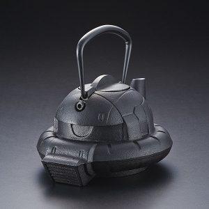 【機動戦士ガンダム】ガンダムカフェ『南部鉄器 鉄瓶 ZAKU』【バンダイ】より2019年4月発送予定☆
