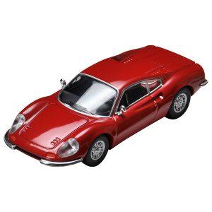 【トミカ】トミカリミテッドヴィンテージ TLV『ディーノ246GT(赤)』ミニカー【トミーテック】より2019年3月発売予定♪