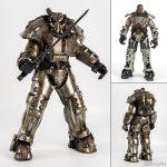 【フォールアウト】Fallout『X-01 POWER ARMOR(パワーアーマー)』1/6 可動フィギュア【スリー・ゼロ】より2019年8月発売予定☆