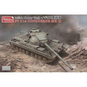 1/35『イギリス重戦車 FV214 コンカラー MKII』プラモデル【アミュージングホビー】2019年1月発売予定♪