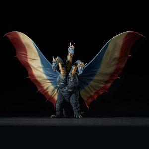 【ゴジラ】東宝大怪獣シリーズ『キングギドラ(1964)限定版』完成品フィギュア【エクスプラス】より2019年5月発売予定♪