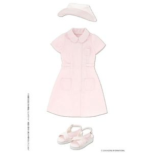 【アゾンオリジナルドール】48cm/50cm用 AZO2『ナースセット ピンク』ドール服【アゾン】より2019年2月発売予定♪
