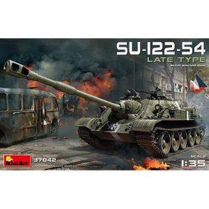 1/35『SU-122-54後期型』プラモデル【ミニアート】より2019年1月発売予定♪