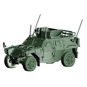 1/72 ミリタリーシリーズ『陸上自衛隊 軽装甲機動車(国教隊)』プラモデル【フジミ模型】より2019年3月発売予定♪