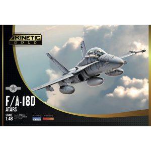 1/48『F/A-18D ATARS』プラモデル【キネティック】より2019年2月発売予定♪