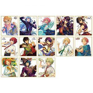 【あんスタ】『あんさんぶるスターズ! ビジュアル色紙コレクション19』13個入りBOX【エンスカイ】より2019年4月発売予定☆