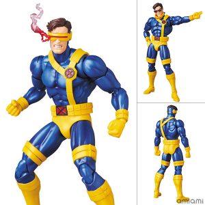 【X-MEN】マフェックス『CYCLOPS サイクロップス(COMIC Ver.)』可動フィギュア【メディコム・トイ】より2020年1月発売予定♪