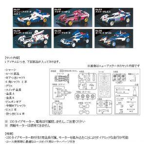 【サイバーフォーミュラ】テクニ四駆『サイバーフォーミュラ BOXセット』プラモデル【アオシマ】より2019年6月発売予定♪