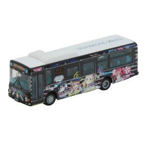 ザ・バスコレクション『伊豆箱根バス ラブライブ!サンシャイン!! ラッピングバス3号車』Nゲージ【トミーテック】2019年4月発売予定♪