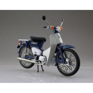 【ホンダ】1/12『Honda スーパーカブ50 ブルー』ミニカー【アオシマ】より2019年6月発売予定☆